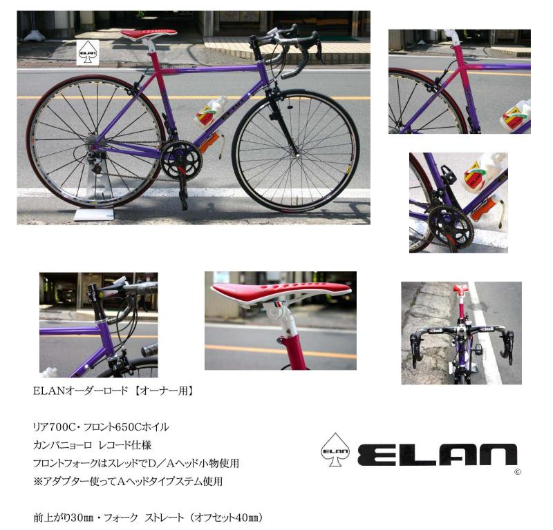 ELAN 113 ロード完成車
